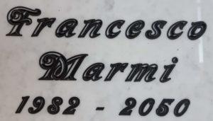 FRANCESCO MARMI